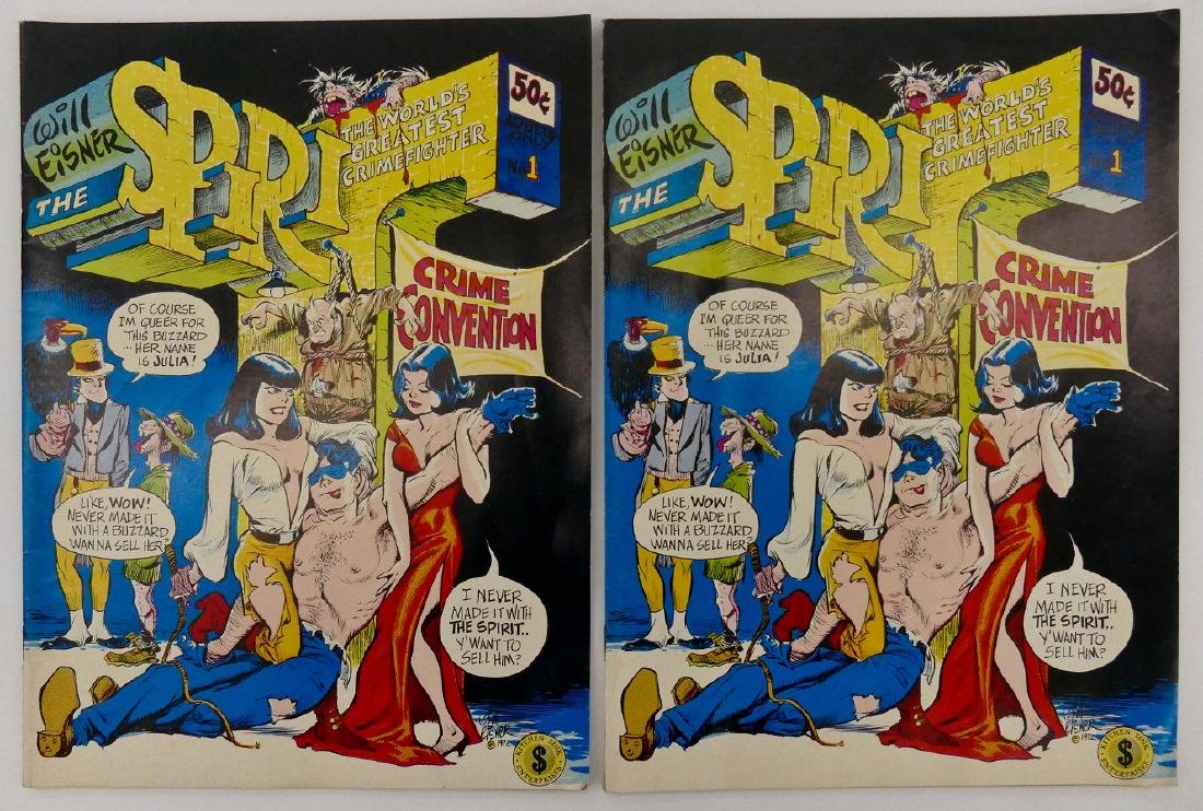 8pc Underground Comic Books. Includes ZAP issues 0-2, - 3