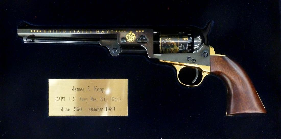 Samuel Colt 1851 Navy Revolver Commemorative Pistol in - 5