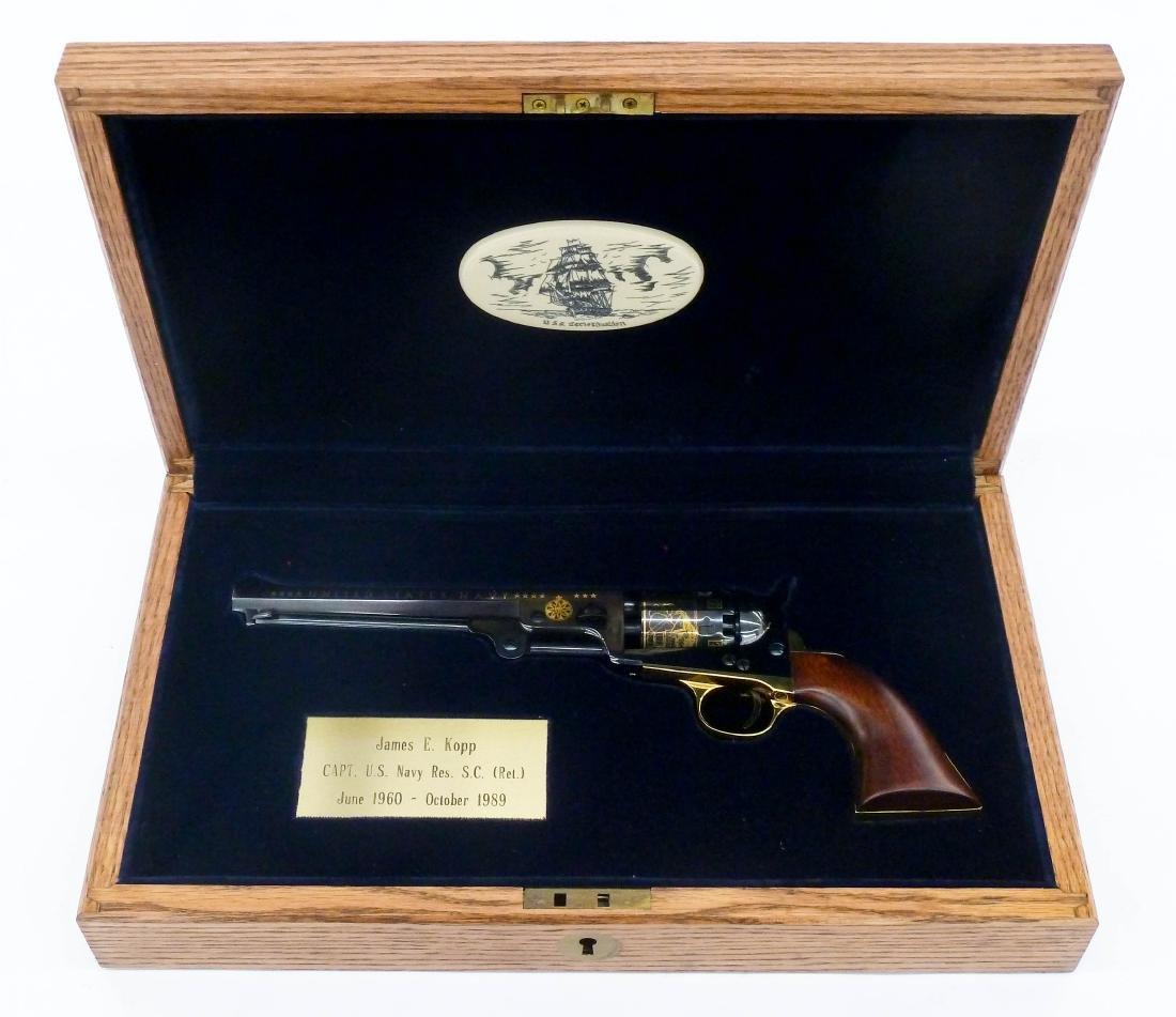 Samuel Colt 1851 Navy Revolver Commemorative Pistol in - 6