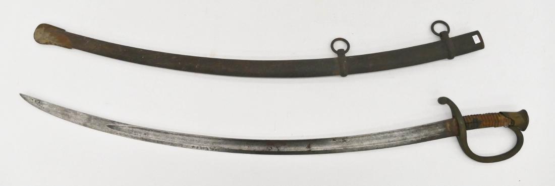 1864 Civl War Presenation Calvary Sword 38.5''. Sword - 6