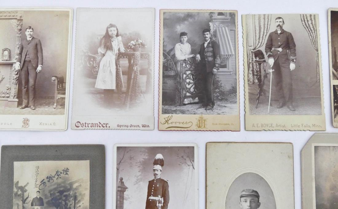 21pc Interesting Subject Matter Cabinet Cards. Includes - 3