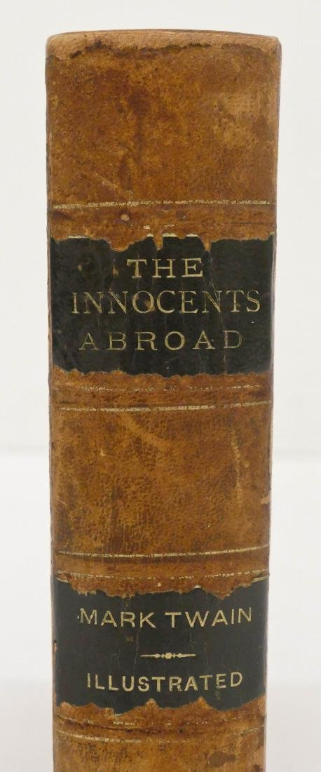 Mark Twain 1869 ''The Innocents Abroad'' First Edition