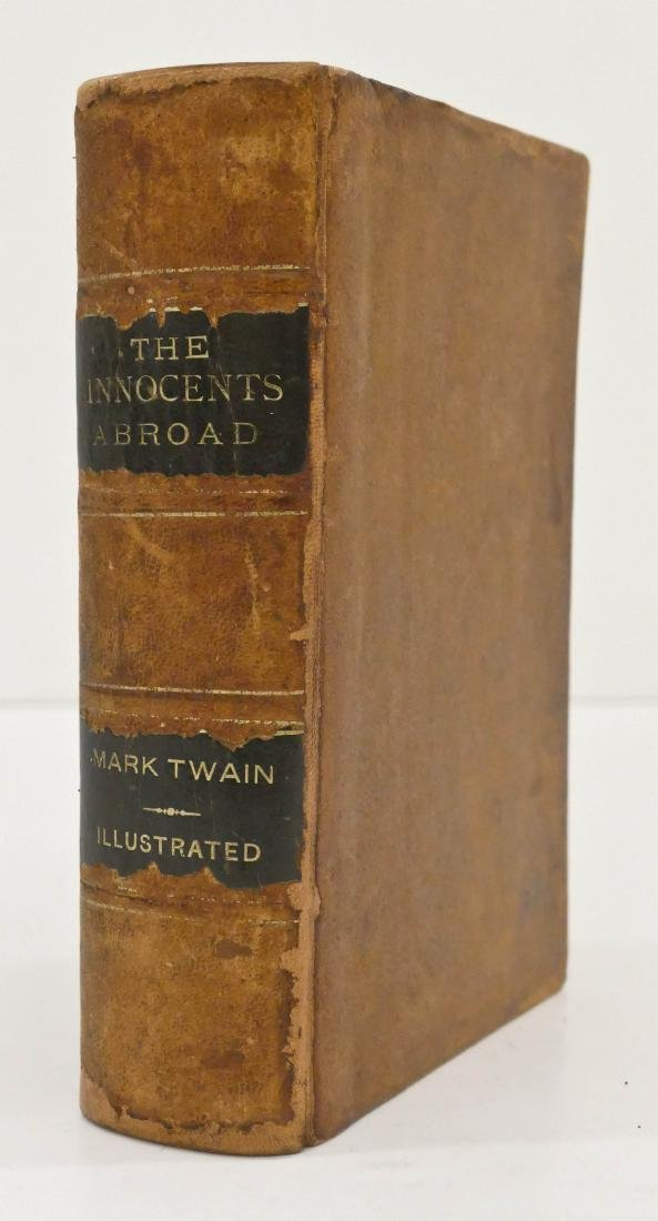 Mark Twain 1869 ''The Innocents Abroad'' First Edition - 2