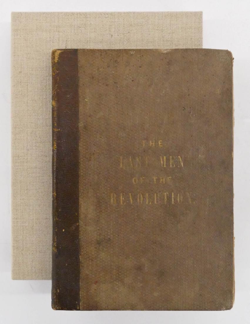 Elias Hillard 1864 ''The Last Men of The Revolution''