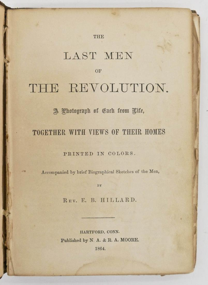 Elias Hillard 1864 ''The Last Men of The Revolution'' - 3