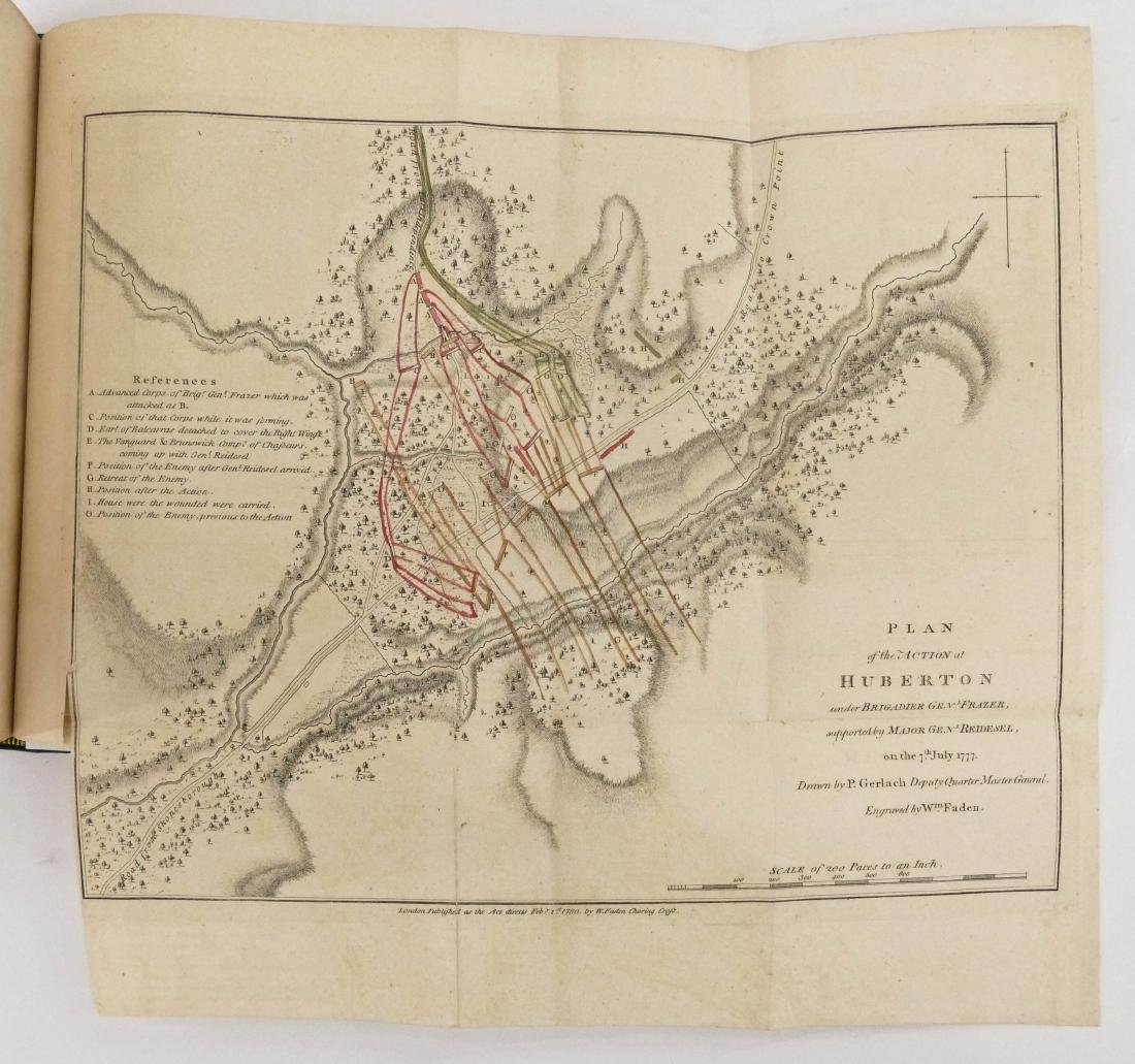 John Burgoyne 1780 ''A State of the Expedition from - 5