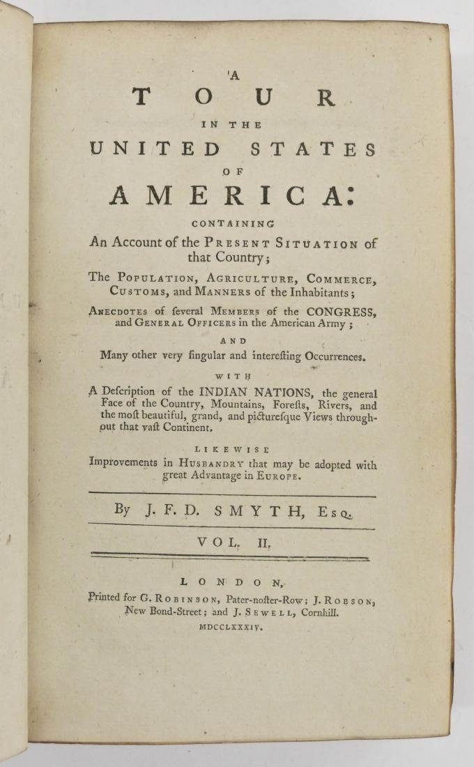 John Ferdinand Smyth 1784 ''A Tour in the United States - 4