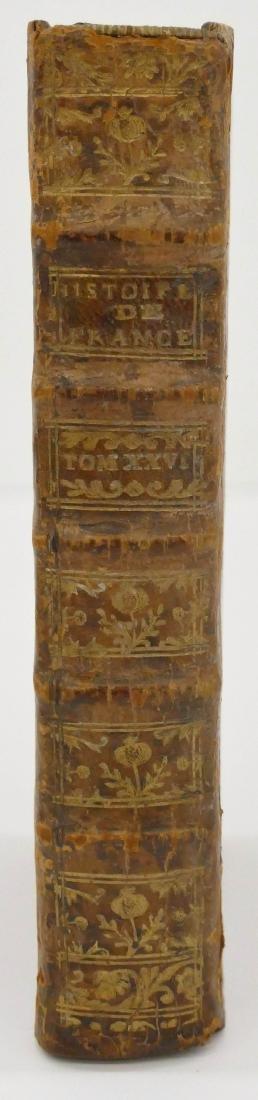 Tome Vingt-Sixieme 1783 ''Histoire de France'' Leather