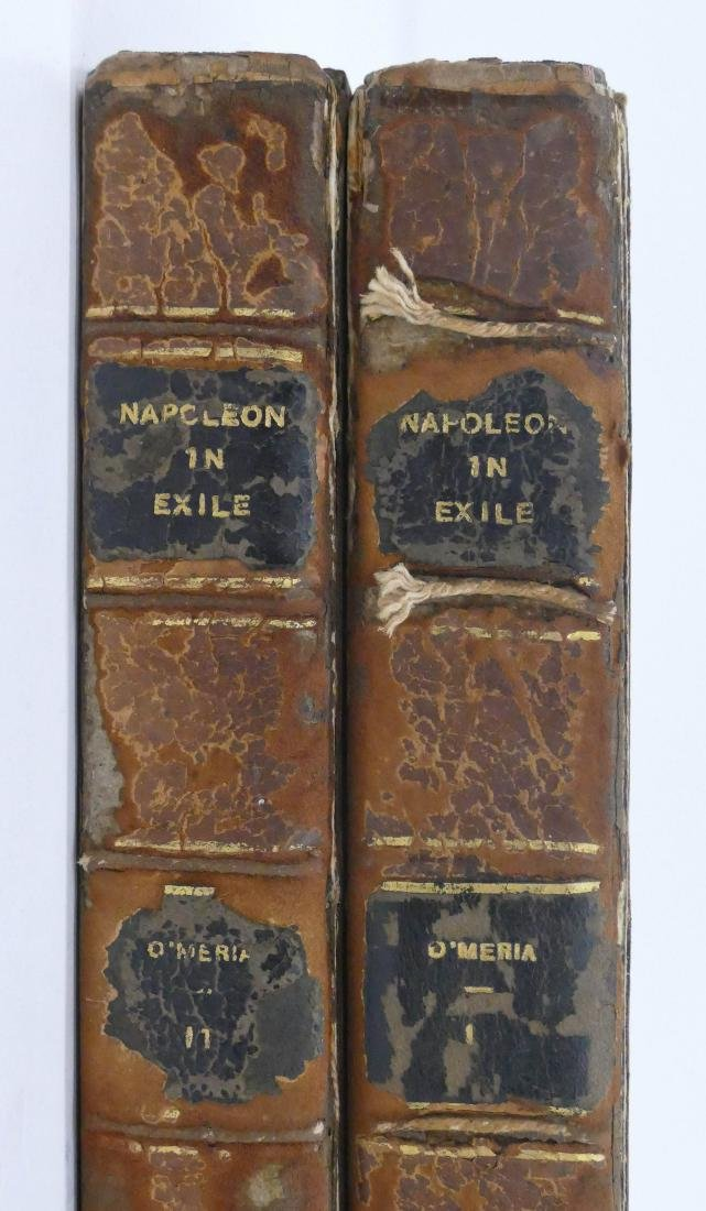 Barry O'Meara 1822 ''Napoleon in Exile'' 2 Volume Book