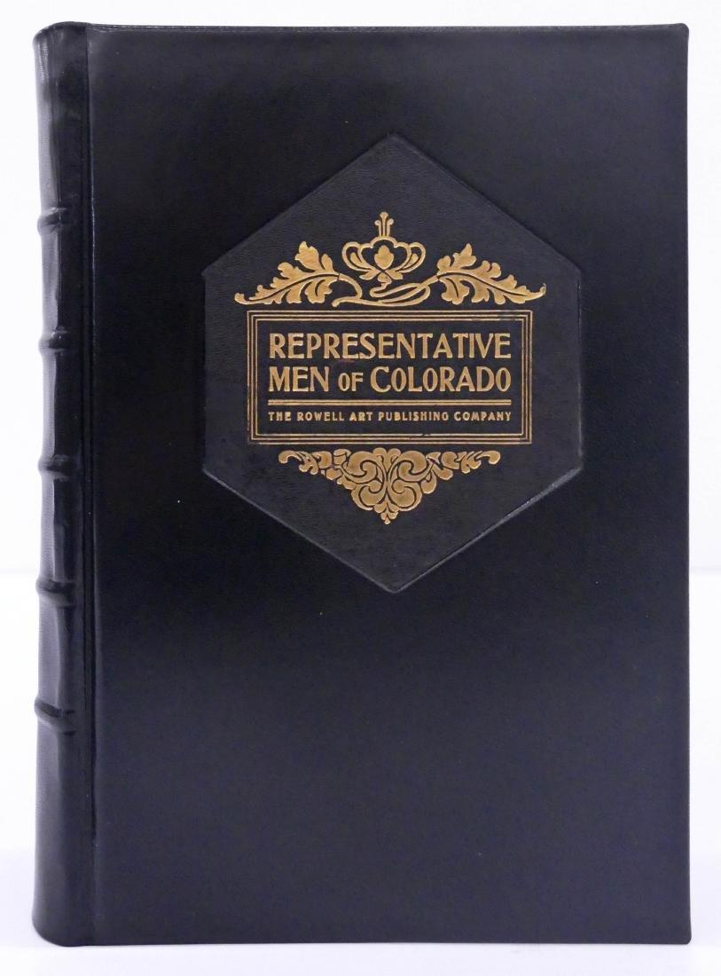 ''Representative Men of Colorado'' 1902 Limited Edition