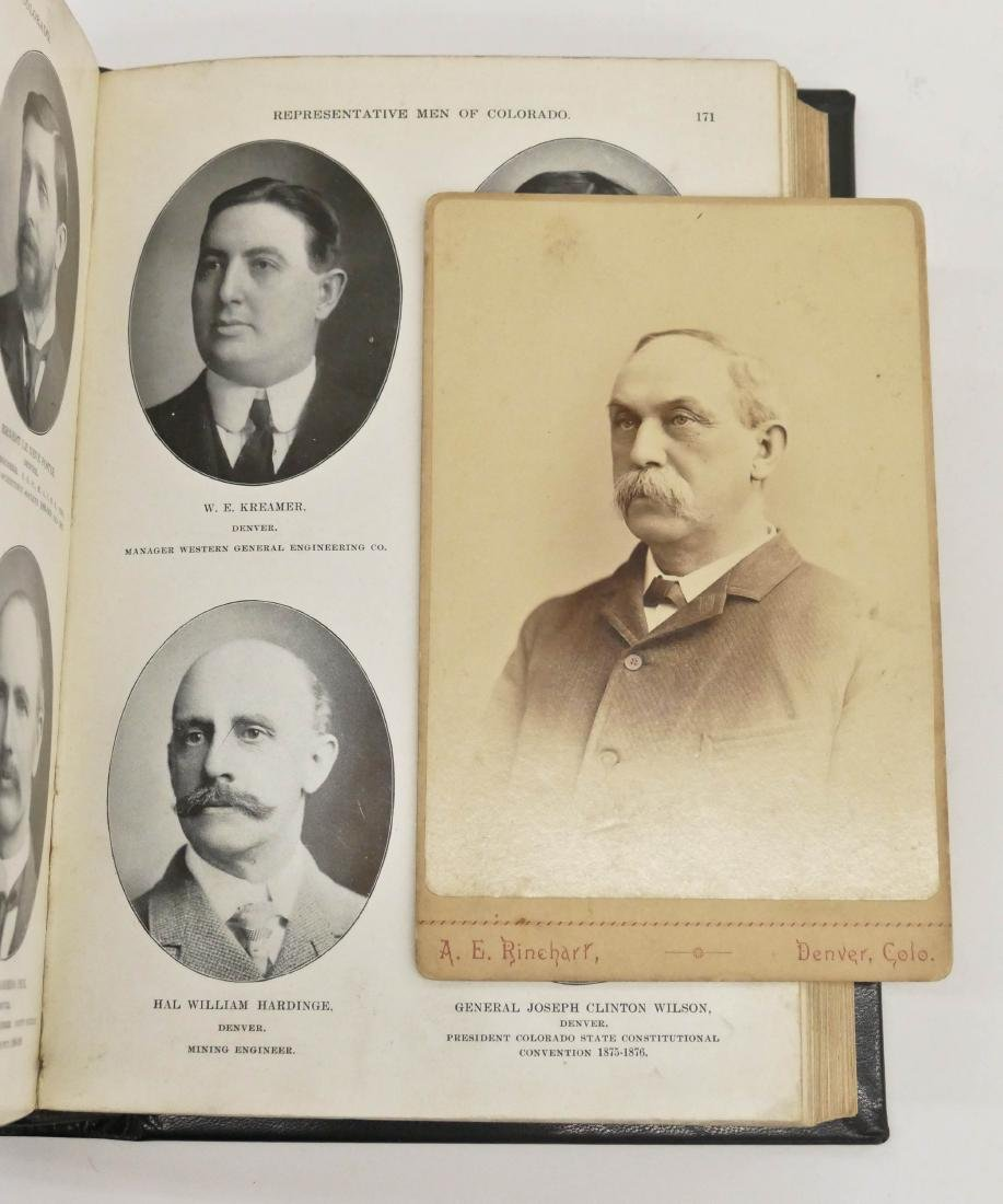 ''Representative Men of Colorado'' 1902 Limited Edition - 3