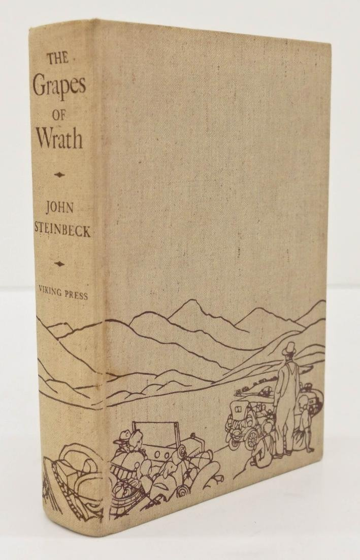 John Steinbeck 1939 ''The Grapes of Wrath'' First - 2