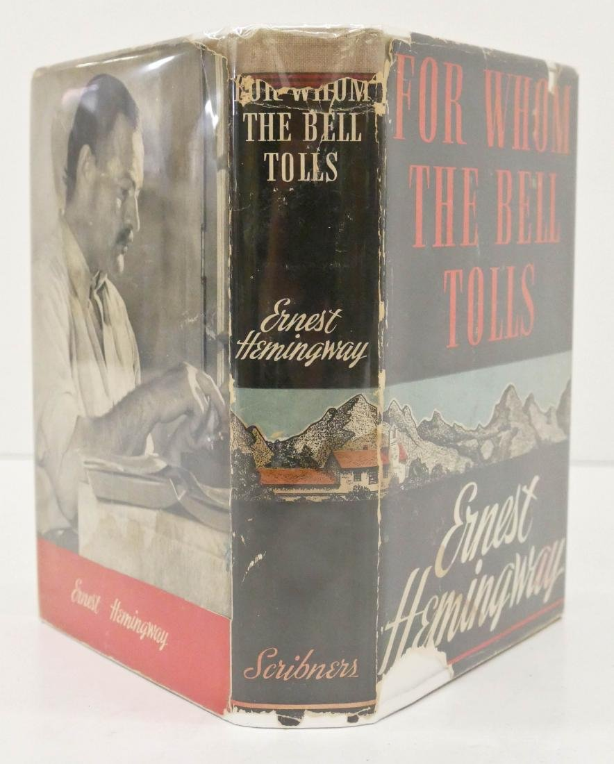 Ernest Hemingway 1940 ''For Whom the Bell Tells'' First - 2