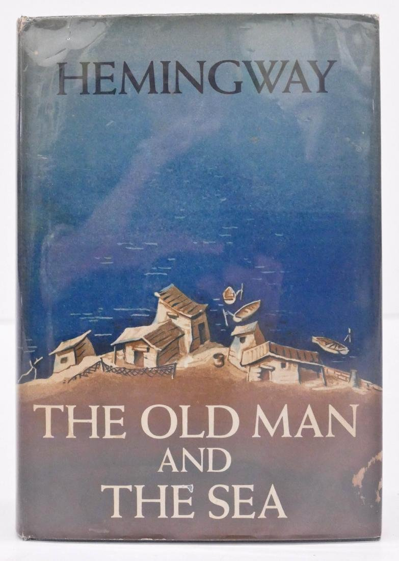 Ernest Hemingway 1952 ''The Old Man and The Sea'' First