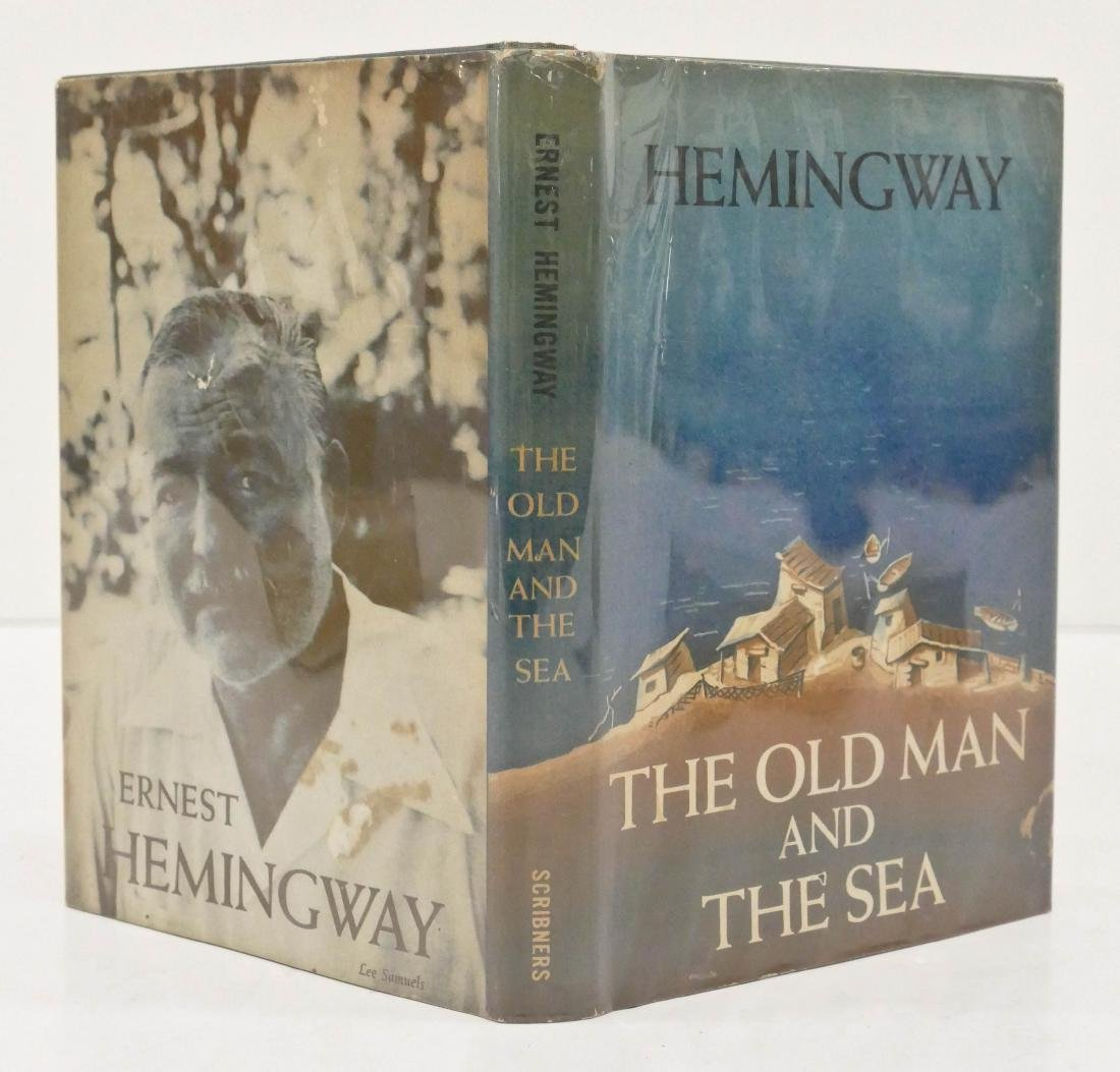 Ernest Hemingway 1952 ''The Old Man and The Sea'' First - 2