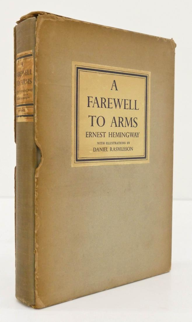Ernest Hemingway 1948 ''A Farewell to Arms'' Book in
