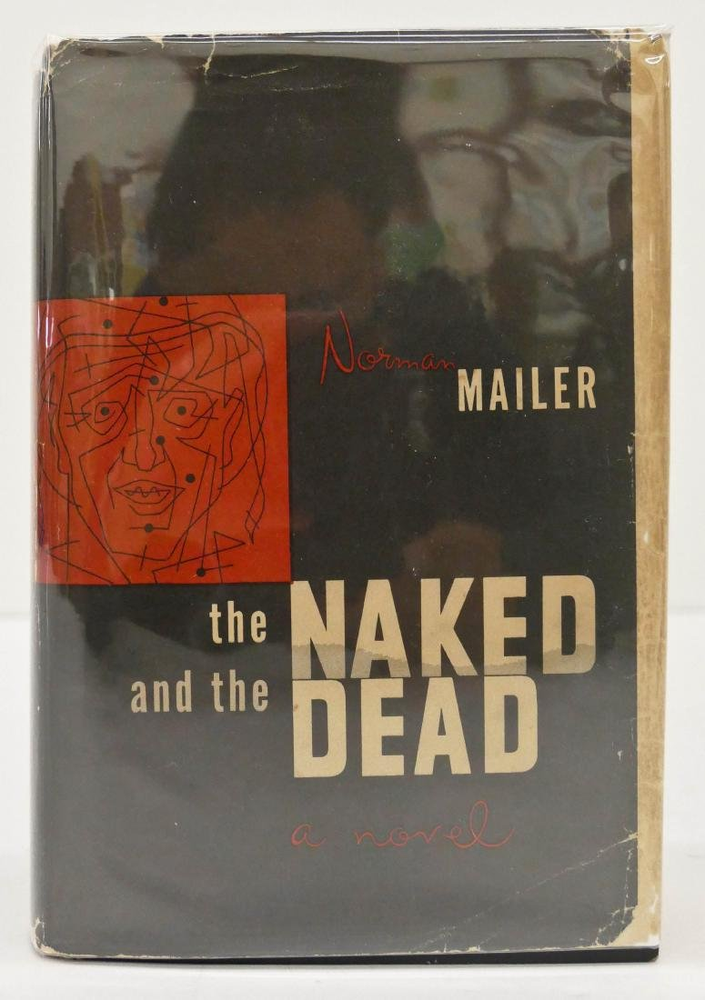 Norman Mailer 1948 ''The Naked and The Dead'' First