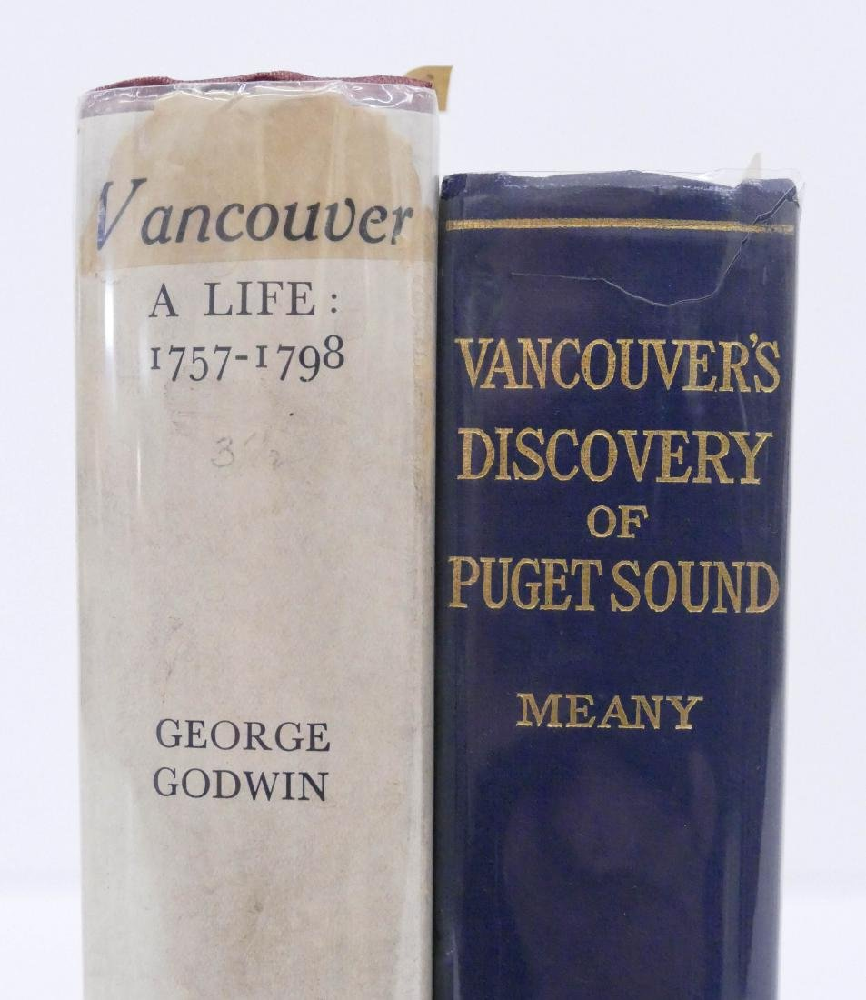 2pc Captain George Vancouver First Edition Books.