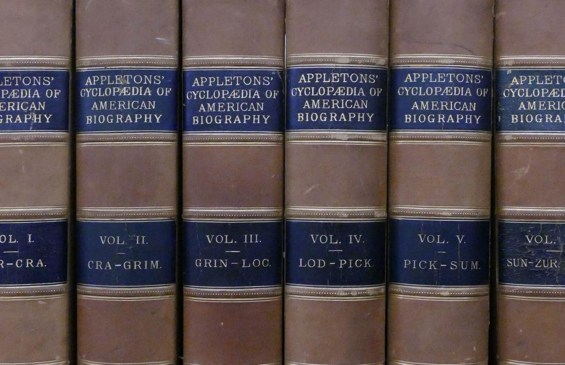 Antique ''Appleton's Cyclopaedia of American