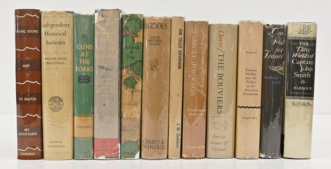 12pc Historical Novels First Edition Books. Includes