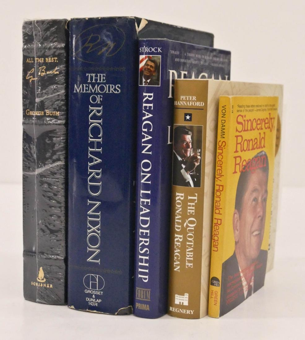 5pc Presidential Signed Books. Includes All The Best by