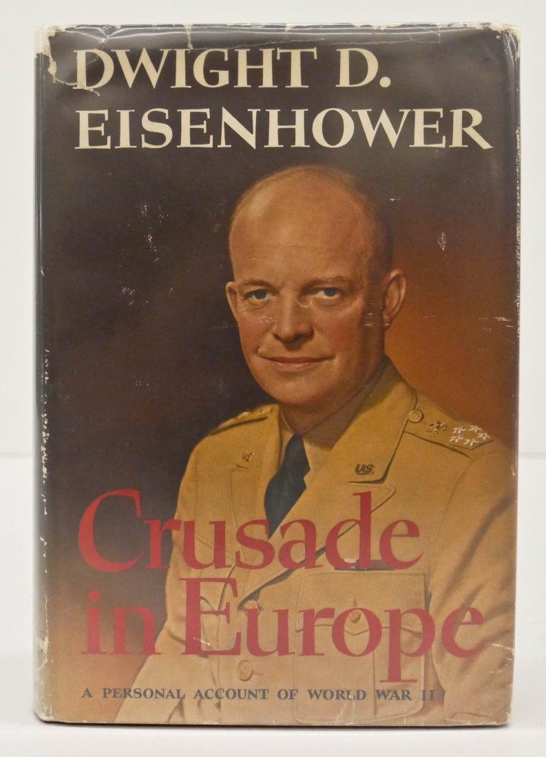 Dwight Eisenhower 1948 ''Crusade in Europe'' Signed
