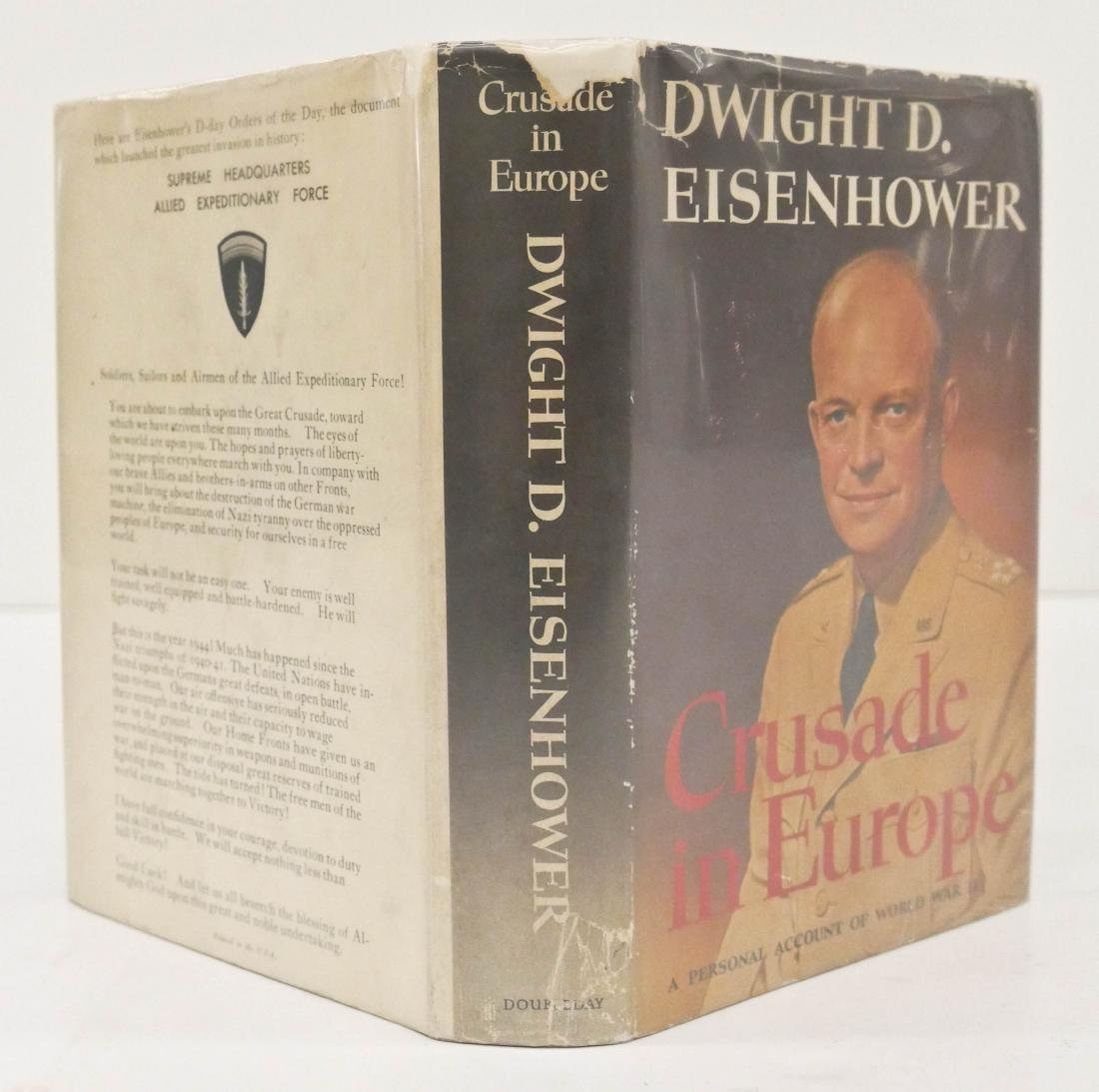 Dwight Eisenhower 1948 ''Crusade in Europe'' Signed - 2
