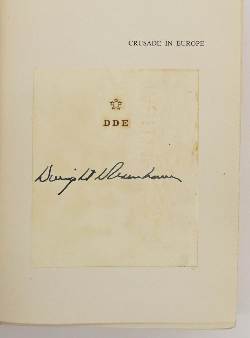 Dwight Eisenhower 1948 ''Crusade in Europe'' Signed - 3