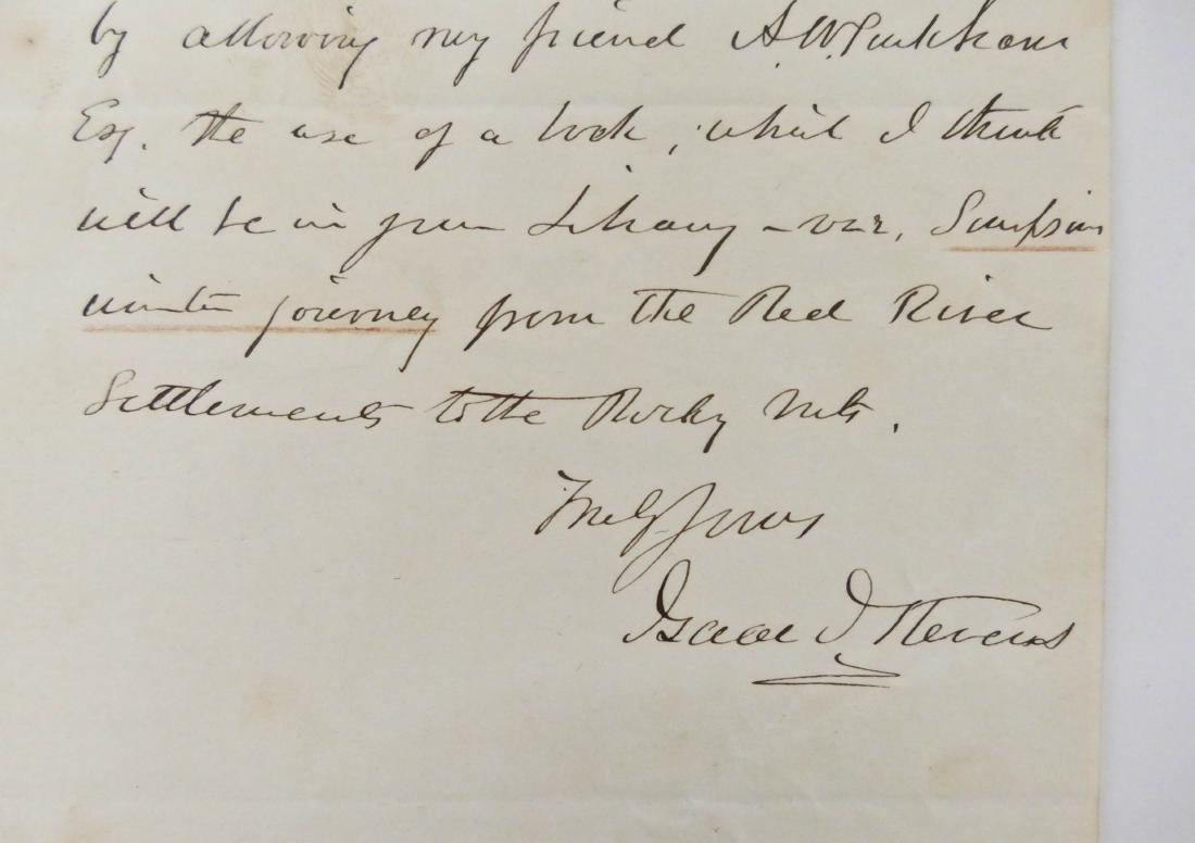 Isaac Stevens 1854 Union Major General Autographed