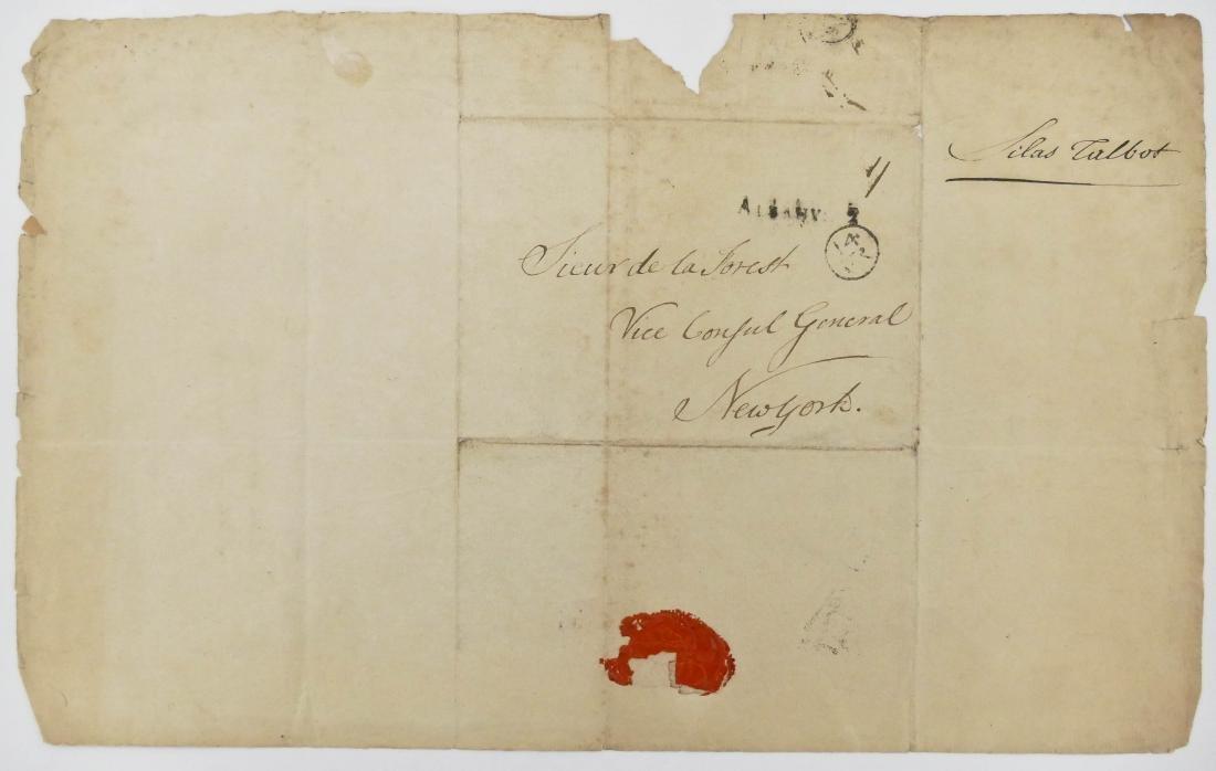 De La Forest 1792 French Consult Autographed Letter - 3