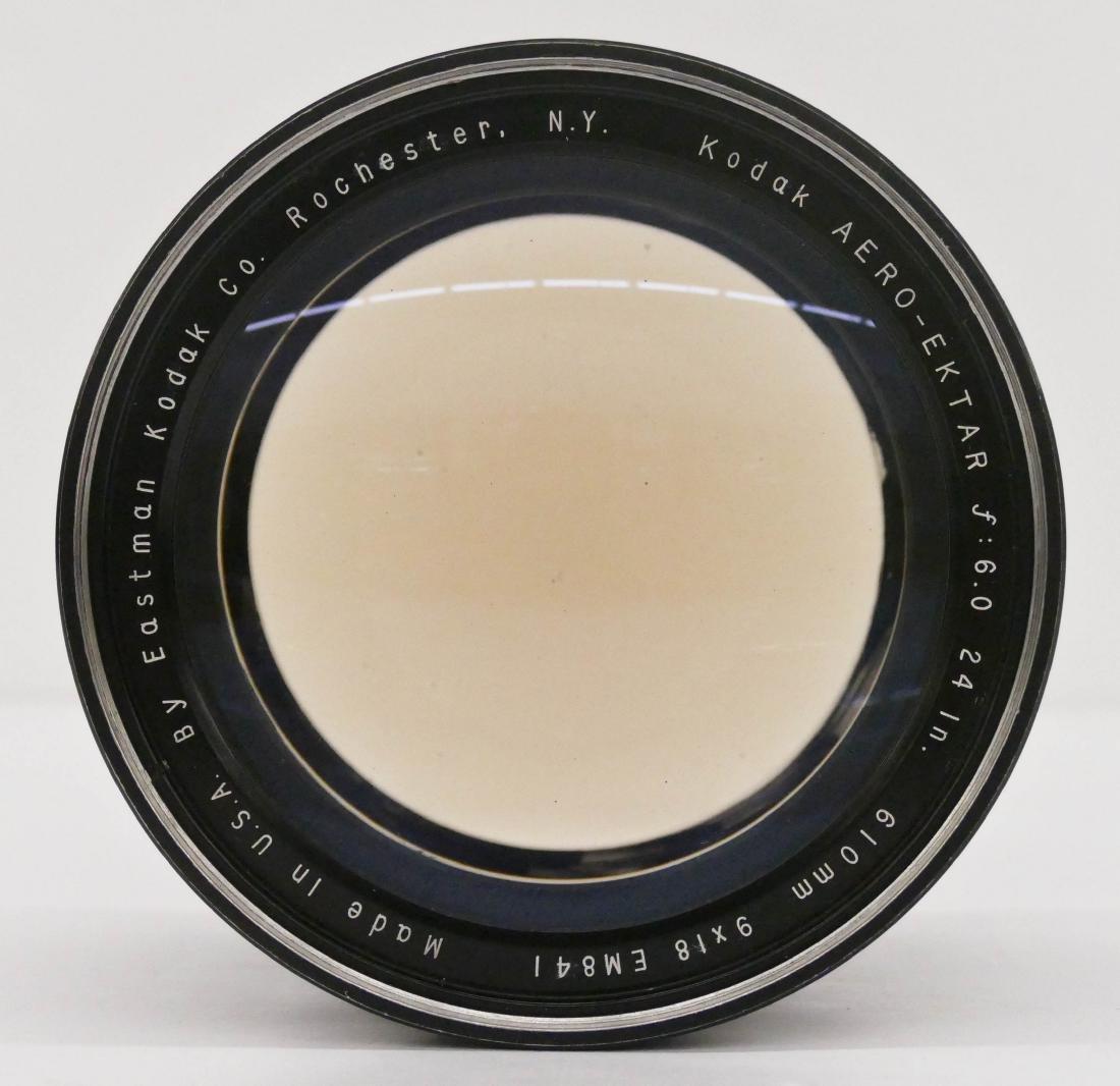 WWII Kodak Aero Ektar F6 610mm 9x18 Lens 5.5''x5''. A - 2