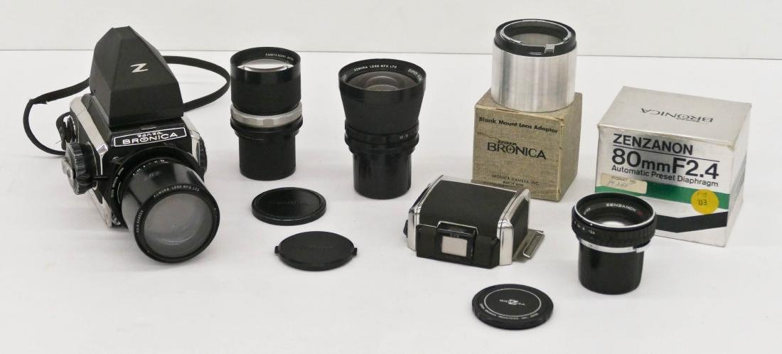 Zenza Bronica S2 Camera Outfit with Lenses &