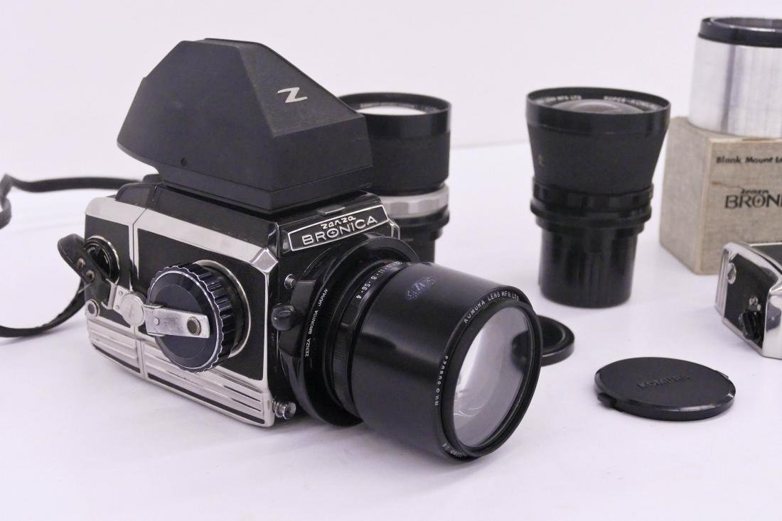 Zenza Bronica S2 Camera Outfit with Lenses & - 2
