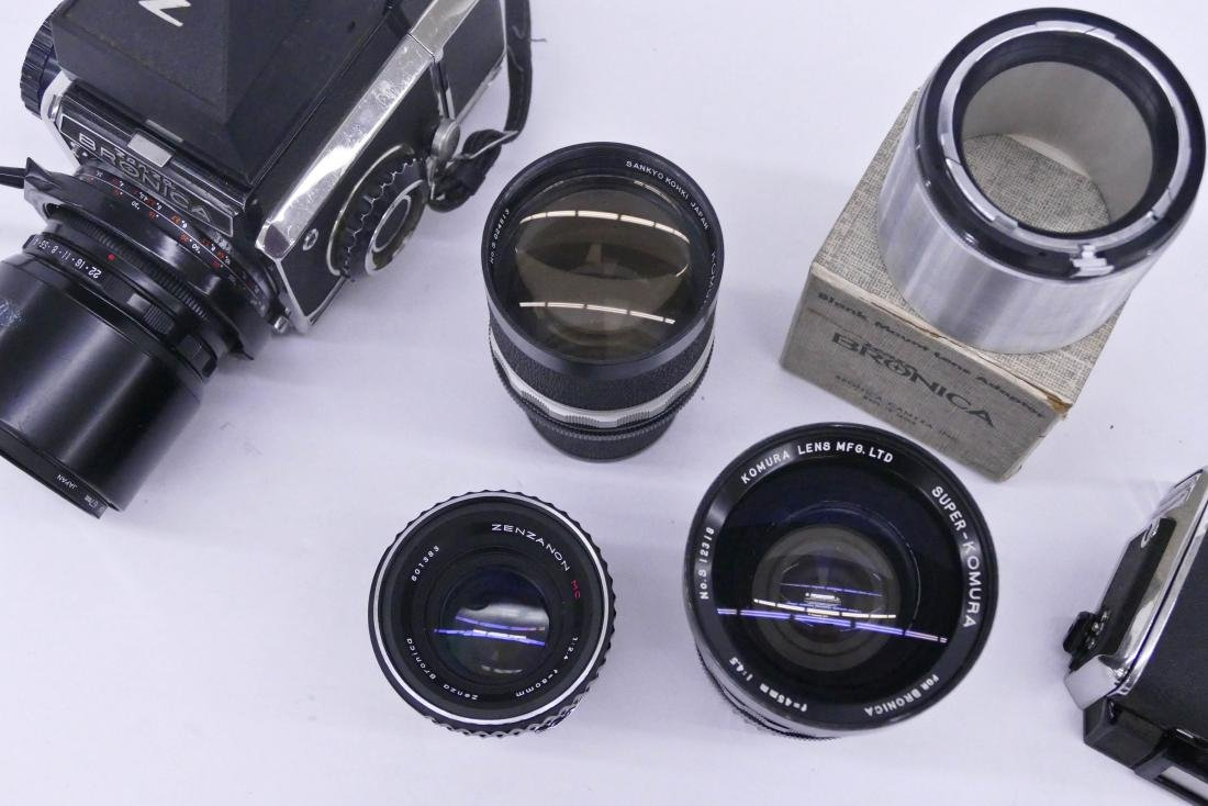 Zenza Bronica S2 Camera Outfit with Lenses & - 3