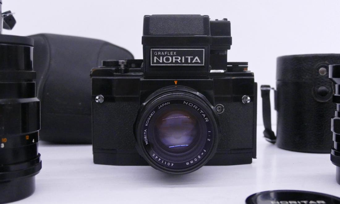 Norita 66 Graflex Camera Outfit with Lenses. Includes a - 2