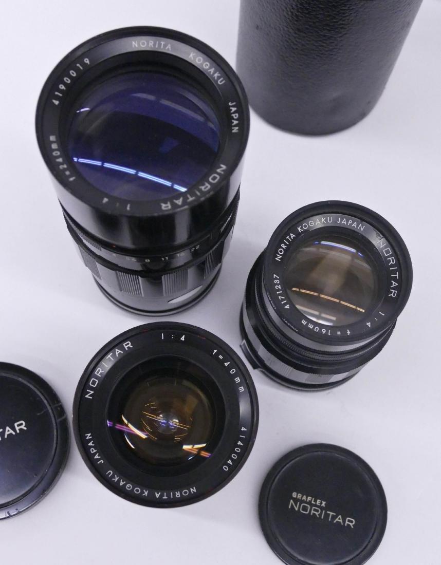 Norita 66 Graflex Camera Outfit with Lenses. Includes a - 3