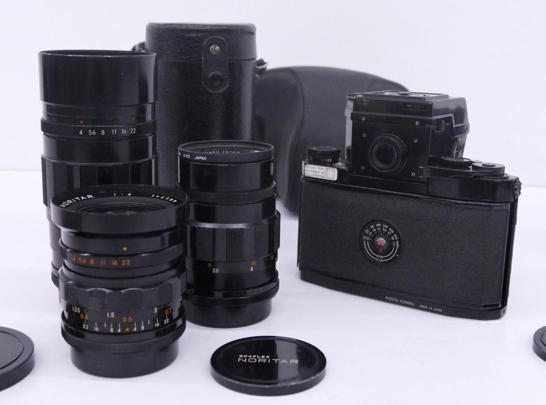 Norita 66 Graflex Camera Outfit with Lenses. Includes a - 4