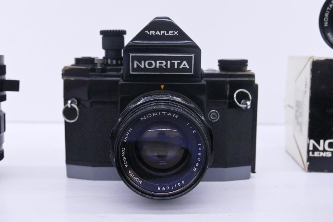 Norita 66 Graflex Camera Outfit with Lenses. Includes a - 2