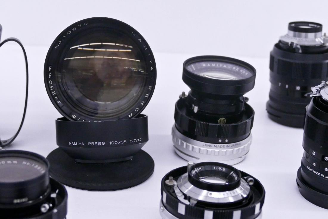 Mamiya Super 23 Press Camera Outfit with Many Lenses. - 3