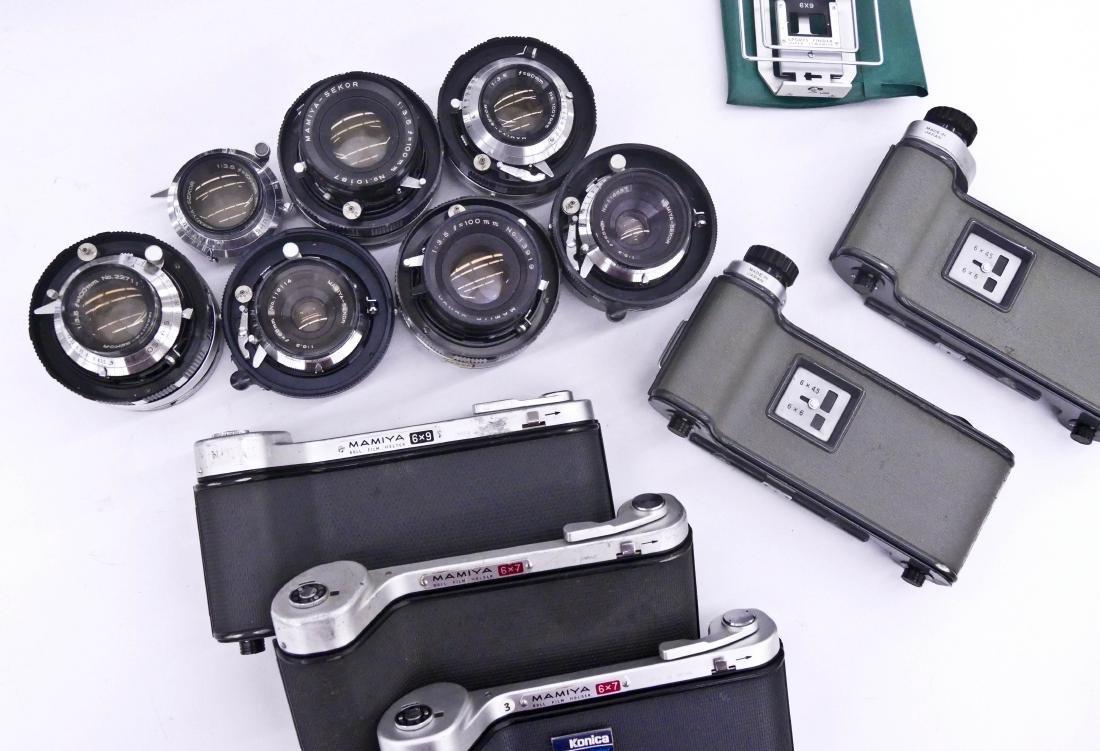 Mamiya Super 23 Press Camera Outfit with Many Lenses. - 4