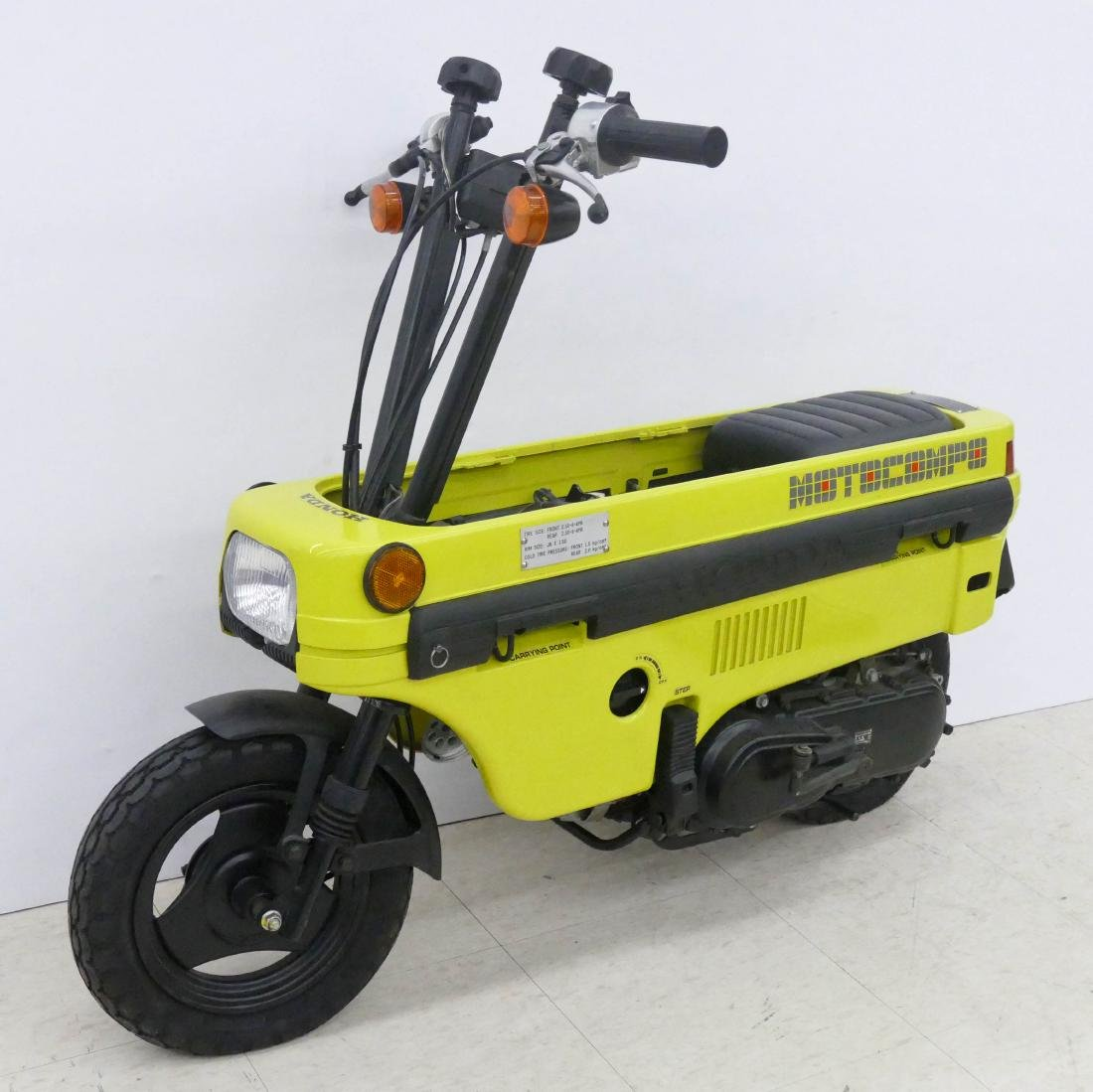 1982 Honda Motocompo Compact Trunk Bike or Scooter.