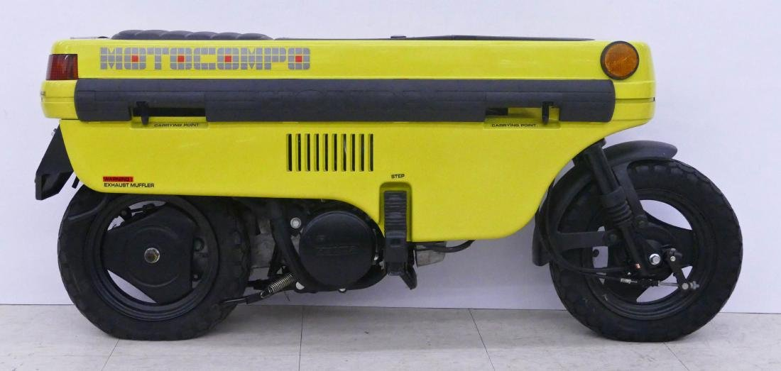 1982 Honda Motocompo Compact Trunk Bike or Scooter. - 2