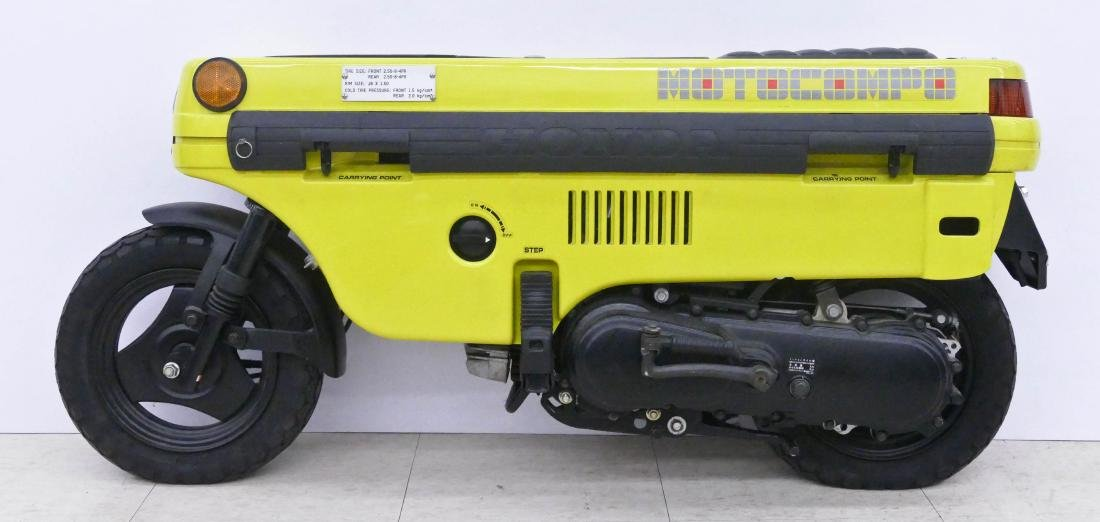 1982 Honda Motocompo Compact Trunk Bike or Scooter. - 4