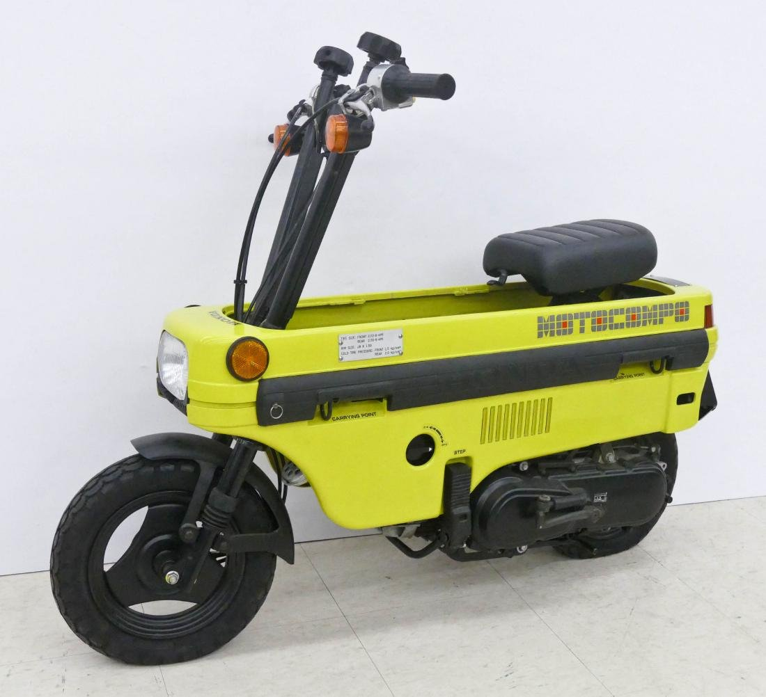 1982 Honda Motocompo Compact Trunk Bike or Scooter. - 6