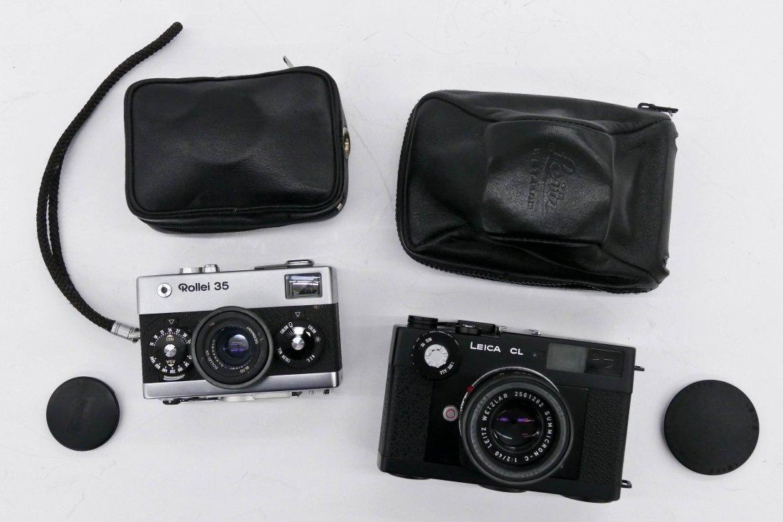 Leica As Miniature In Silver 800 With Certificat Of Origin