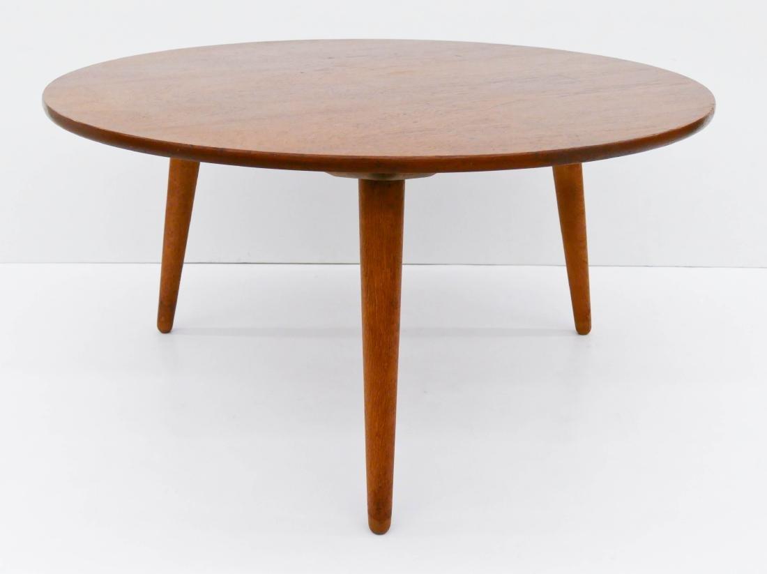 Hans Wegner for Andreas Tuck Round Teak Coffee Table