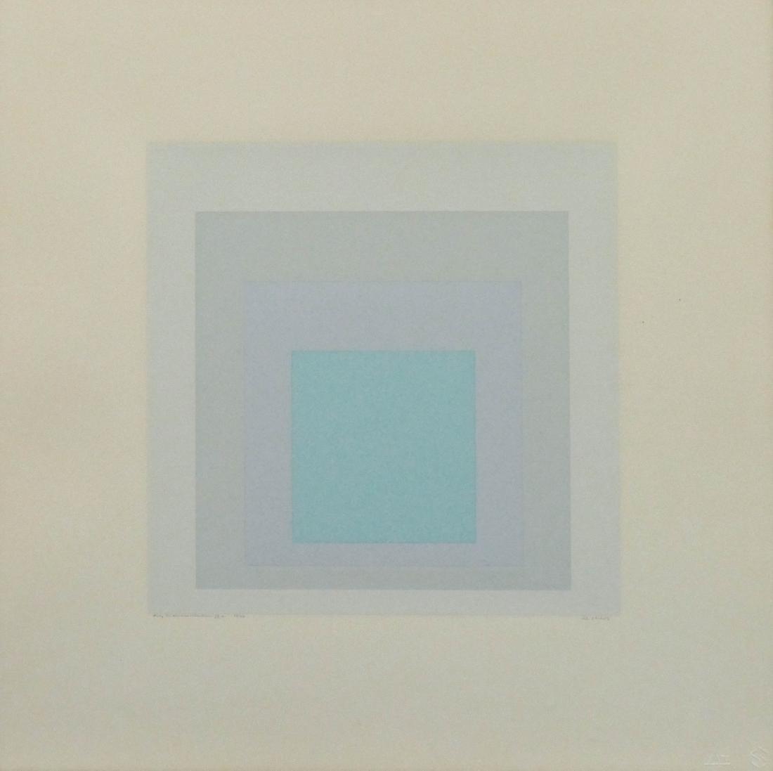 Josef Albers (1888-1976 American) ''Gray