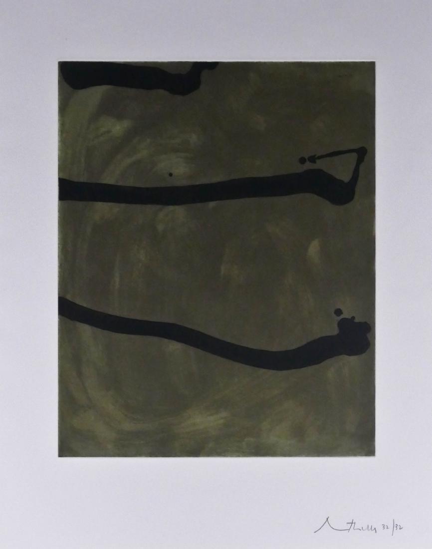 Robert Motherwell (1915-1991 American) Untitled 1974
