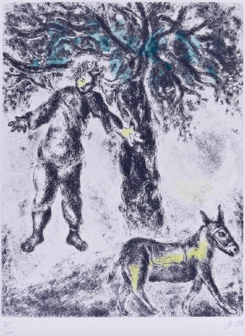 Marc Chagall (1887-1985 Russian) ''Fin d'Absalom'' 1958