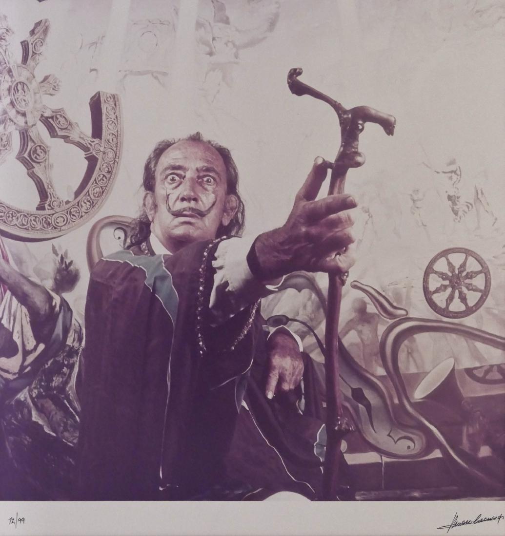 Marc Lacroix (1927-2007 French) Portrait of Salvador